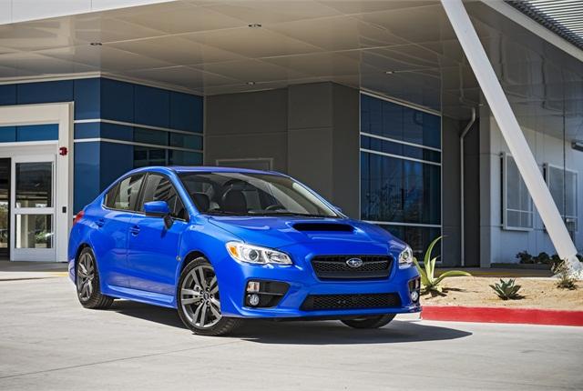 Photo of Subaru WRX courtesy of Subaru.