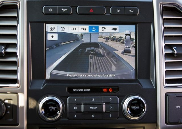Super Duty Trailer Reverse Guidance CHMSL camera (Photo courtesy of Ford.)