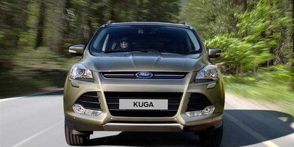 Photo of the Ford Kuga courtesy of Ford.