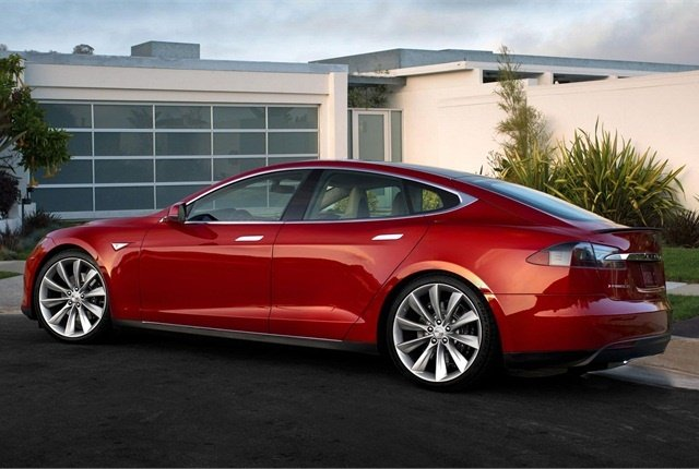 Photo of Model S courtesy of Tesla.