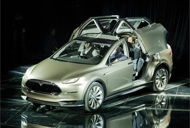 Tesla S Model X Was Unveiled In Mid 2017 Photo Via