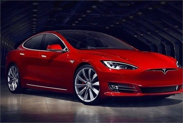 Photo of Tesla Model S courtesy of Tesla.