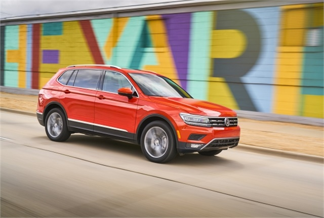 Photo of Volkswagen Tiguan courtesy of Volkswagen.
