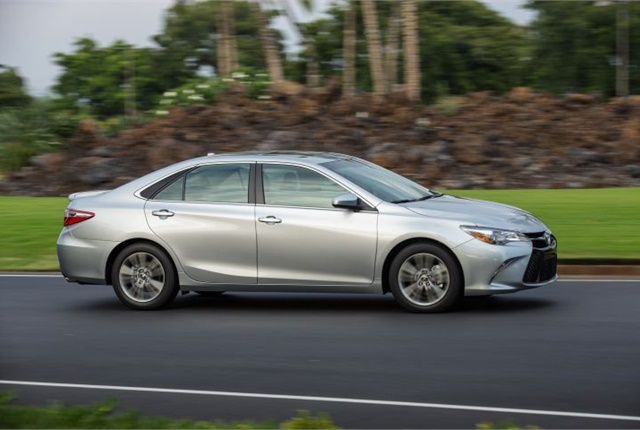 Photo of seventh-generation Camry XLE courtesy of Toyota.