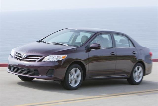 Photo of 2013 Corolla courtesy of Toyota.