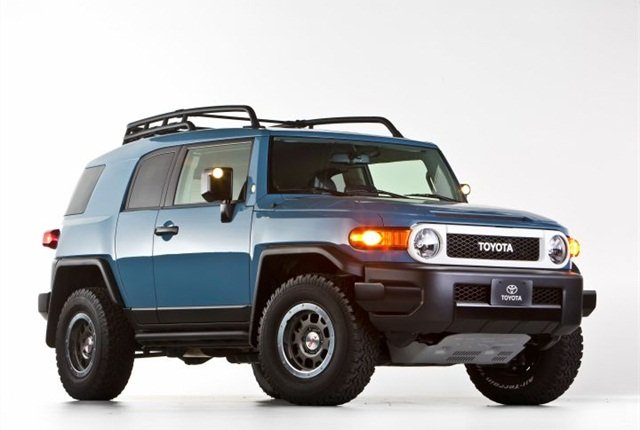 2014 Trail Teams Ultimate Edition FJ Cruiser photo courtesy of Toyota.