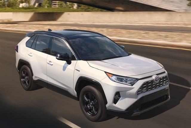 Photo of 2019 RAV4 compact SUV courtesy of Toyota.