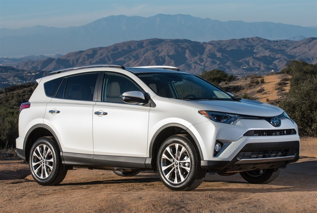Photo of 2017 RAV4 Limited courtesy of Toyota.