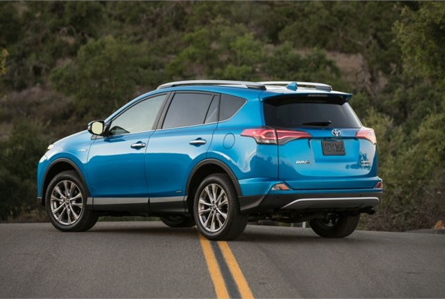 Photo Of 2017 Rav4 Hybrid Limited Courtesy Toyota
