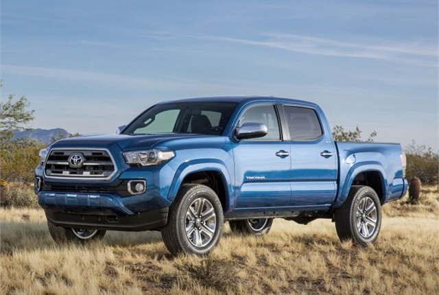 Photo of 2016 Tacoma courtesy of Toyota.
