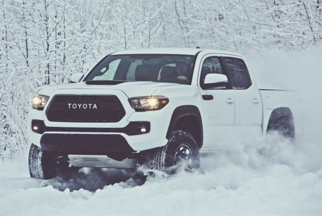 Photo of 2017 Tacoma courtesy of Toyota.