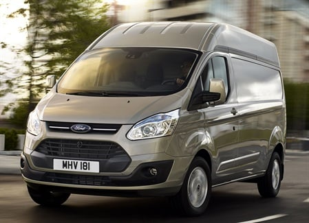 High-Roof Ford Transit Custom