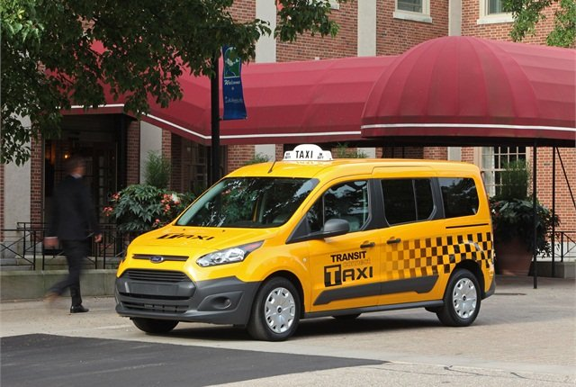 The 2014 Ford Transit Connect Taxi. Photo courtesy Ford.