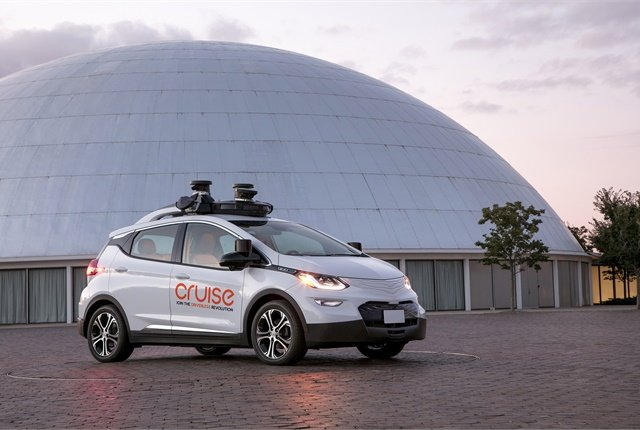 LIDAR firm Strobe is expected to help General Motors' Cruise Automation deploy autonomous vehicles at scale. Photo courtesy of GM.