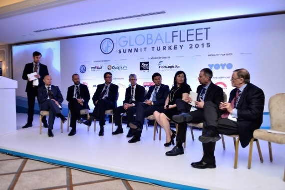 A panel at the Inaugural Global Fleet Summit held in 2015. Photo: Nexus Communication