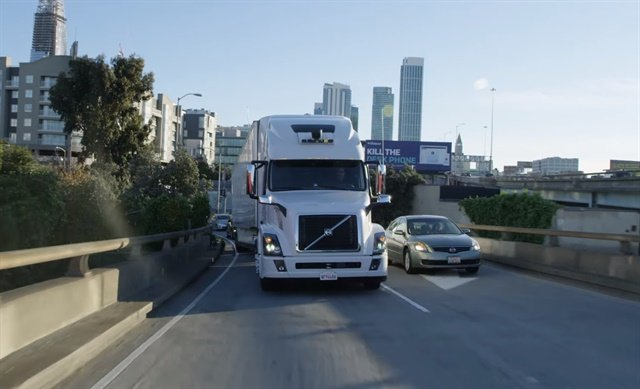 The lawsuit centered aroundUber'sacquisiton of Otto, an autonomous truck company started by a former Waymo employee. Photo: Uber