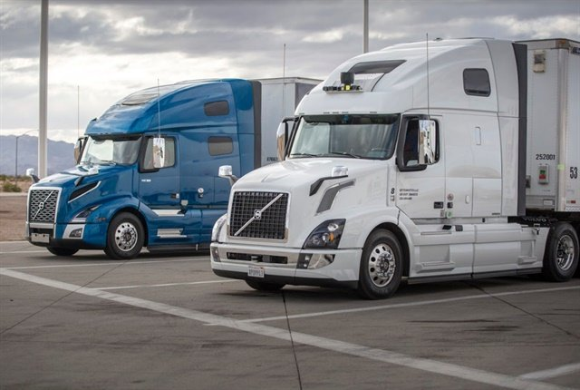 Uber sees its self-driving trucks taking over many of the long-haul cross country routes while traditionally driven trucks transfer the goods in regional settings.Photo:Uber ATG
