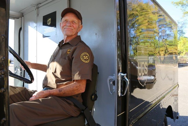 Photo of Tom Camp courtesy of UPS.