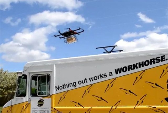 USPS Considering Drone Delivery Vehicle - Operations - Work