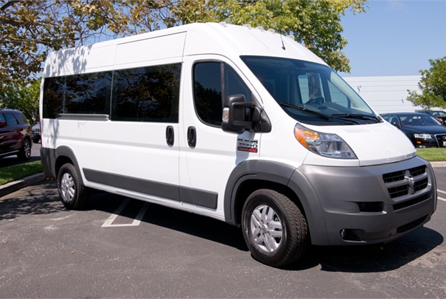 Photo of Ram ProMaster passenger van by Vince Taroc.