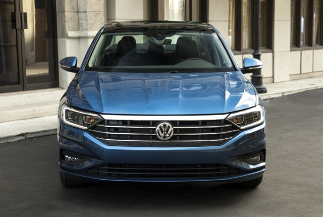 Photo of 2019 Jetta's compact sedan courtesy of Volkswagen.