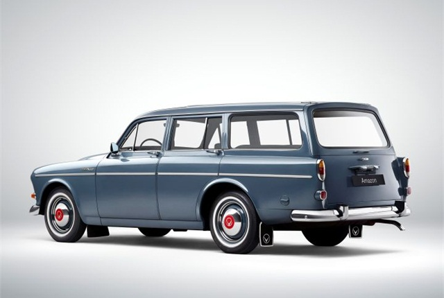 Photo of 1962 221 Amazon courtesy of Volvo.