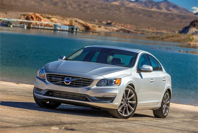 Photo of 2015 S60 courtesy of Volvo.
