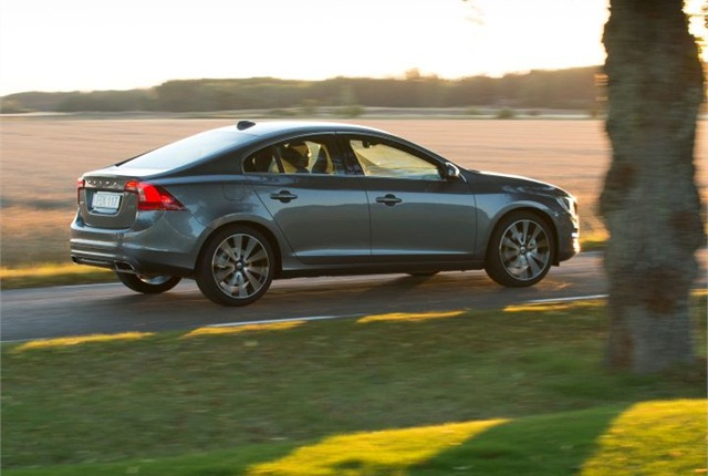 Photo of 2016 S60 courtesy of Volvo Cars.