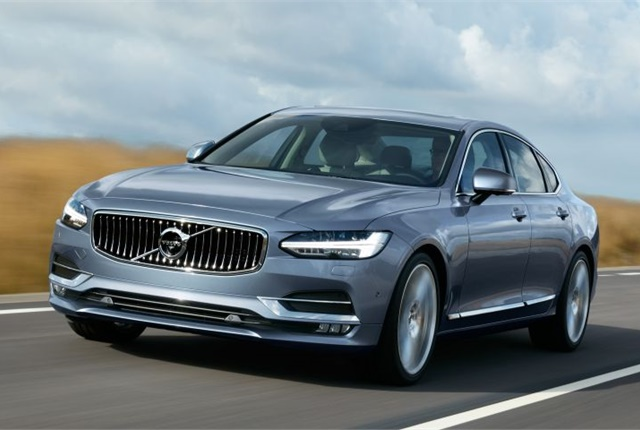 Photo of 2017 S90 courtesy of Volvo.
