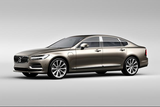 Photo of Volvo S90 courtesy of Volvo.