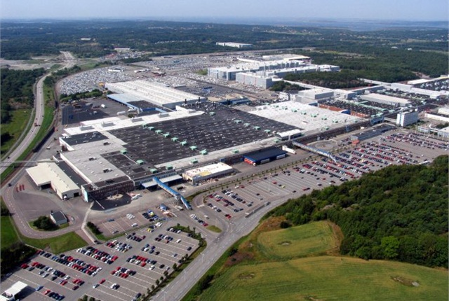 The Torslanda plant is shown in this 2004 aerial view. Photo courtesy of Volvo.