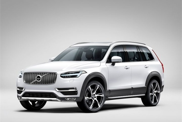 Photo of 2015 XC90 courtesy of Volvo.