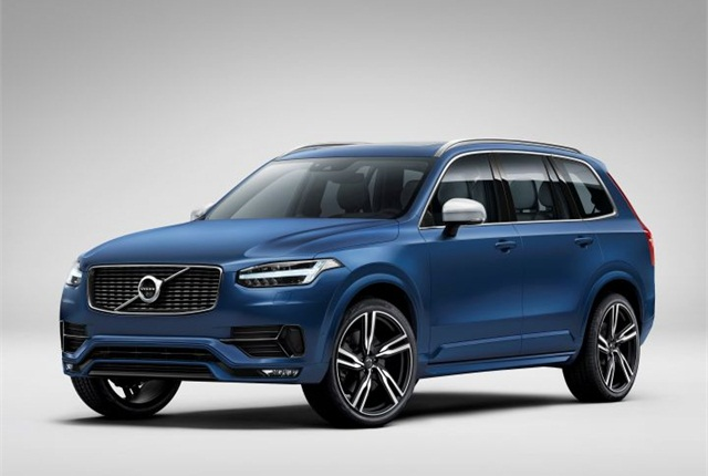 Photo of 2015 XC90 R-Design courtesy of Volvo.