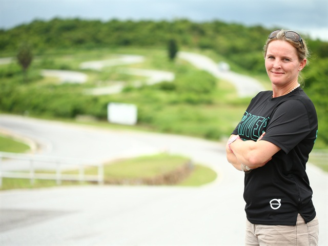 Louise Marriott was the 2015 winner of Volvo's Asia Pacific Fuelwatch Challenge. She is the first woman and New Zealander to achieve the honor. Photo: Volvo