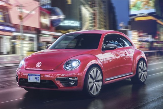 Photo Of Pink 2017 Beetle Courtesy Volkswagen