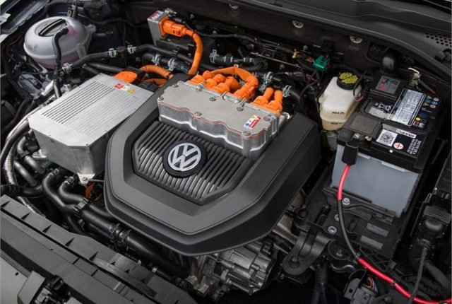 Photo of e-Golf's electric motor courtesy of VW.