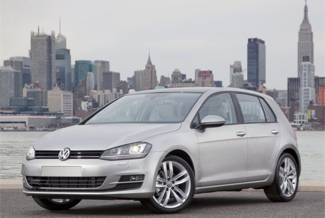 Photo of 2015 Golf courtesy of Volkswagen.