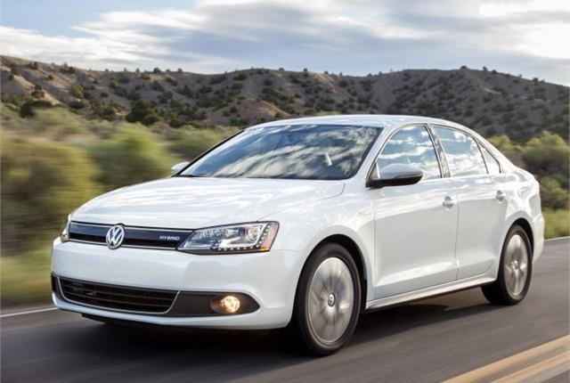 Photo of 2014 Jetta Hybrid courtesy of Volkswagen.