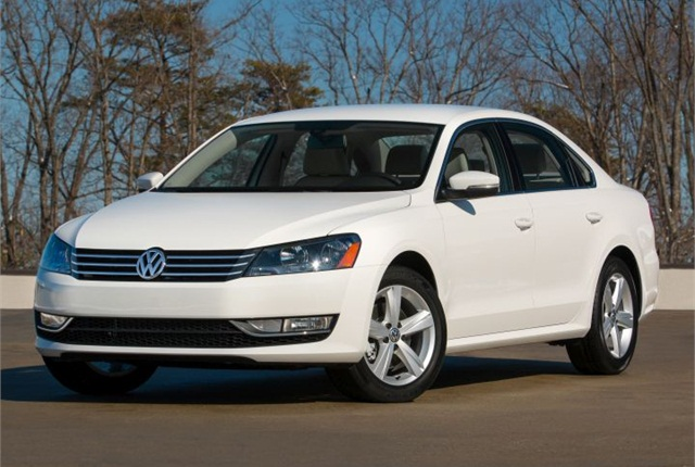 Photo of the Passat Limited Edition courtesy of VW.