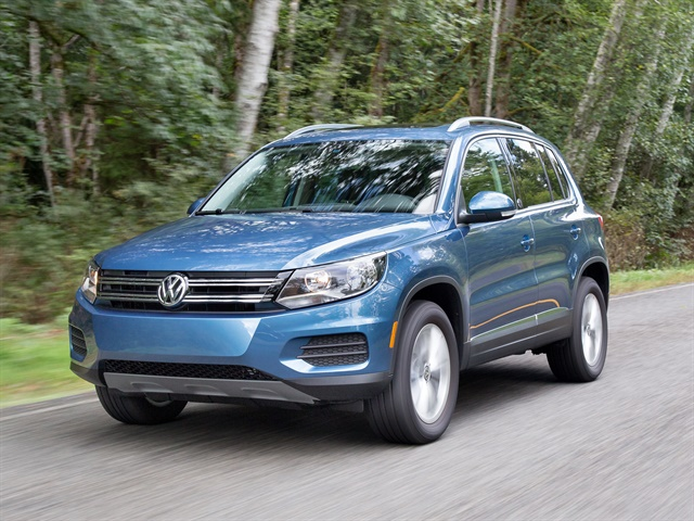 Photo of 2017 Tiguan courtesy of Volkswagen.