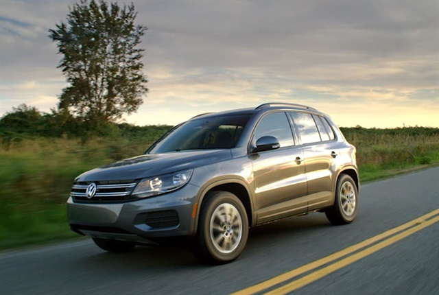 Photo of 2017 Tiguan Limited courtesy of Volkswagon.