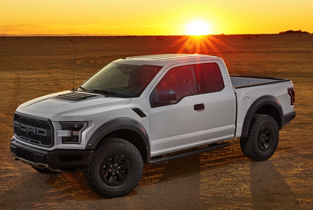 Photo of the new F-150 Raptor courtesy of Ford Motor Co.