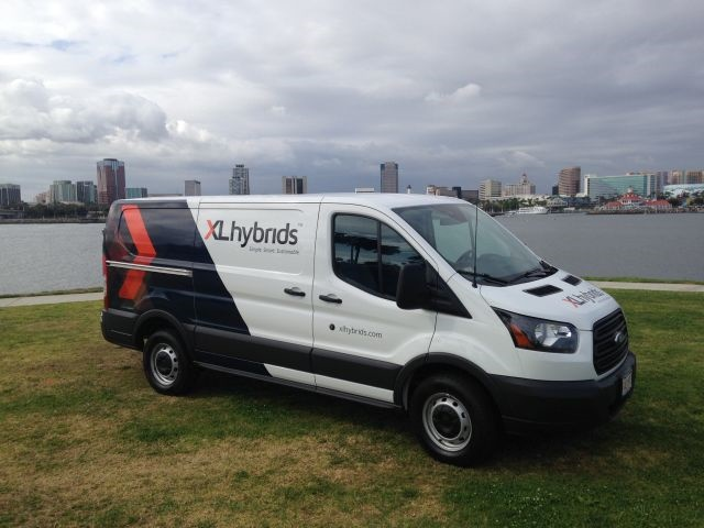 Ford Transit Equipped With An Xl3 Hybrid System Photo Courtsey Of Xl Hybrids
