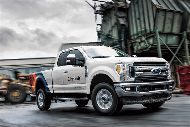 Photo of 2018 Ford F-250 courtesy of XL Hybrids.
