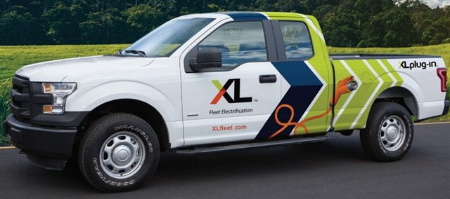 CPS Energy haspurchased34 XLP Plug-In Hybrid Electric Ford F-150 pickup trucks. Photo: XL