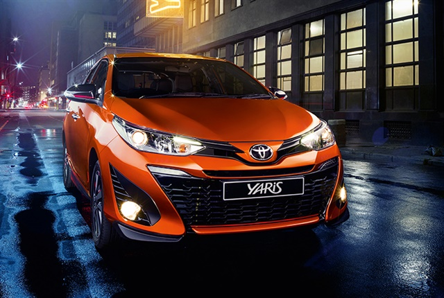 Photo of the Yaris courtesy of Toyota South Africa.