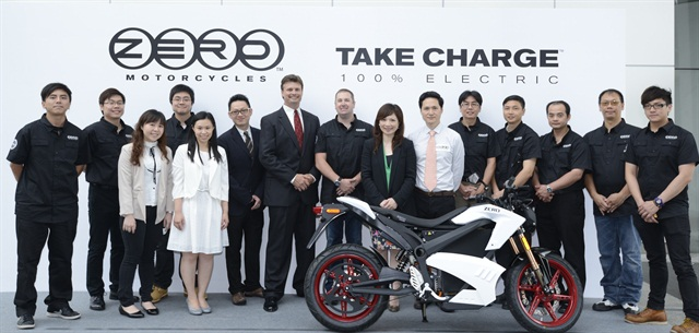 Zero Motorcycles completed its largest fleet sale to day when it presented the Hong Kong government with 59 Zero S motorcycles.
