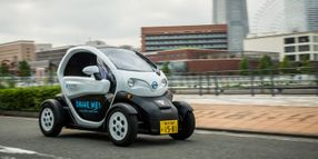 New Car-Sharing Service in Japan features Nissan's Ultra-Compact EV