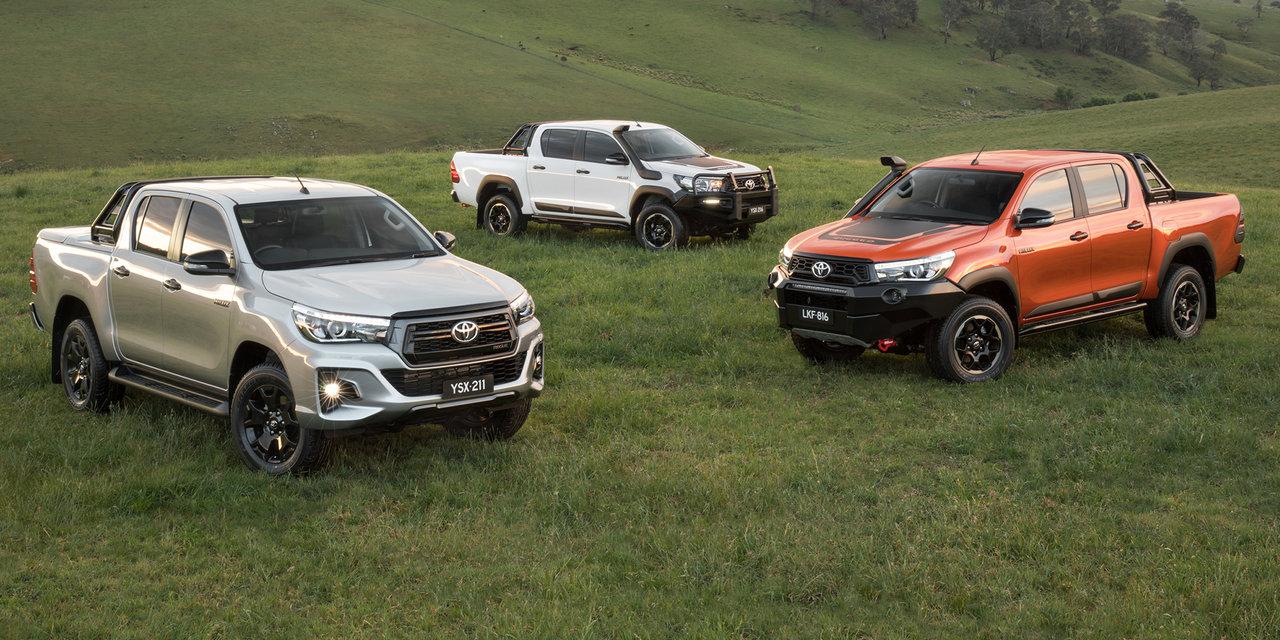 Toyota Unveils Three HiLux Variants for Australia