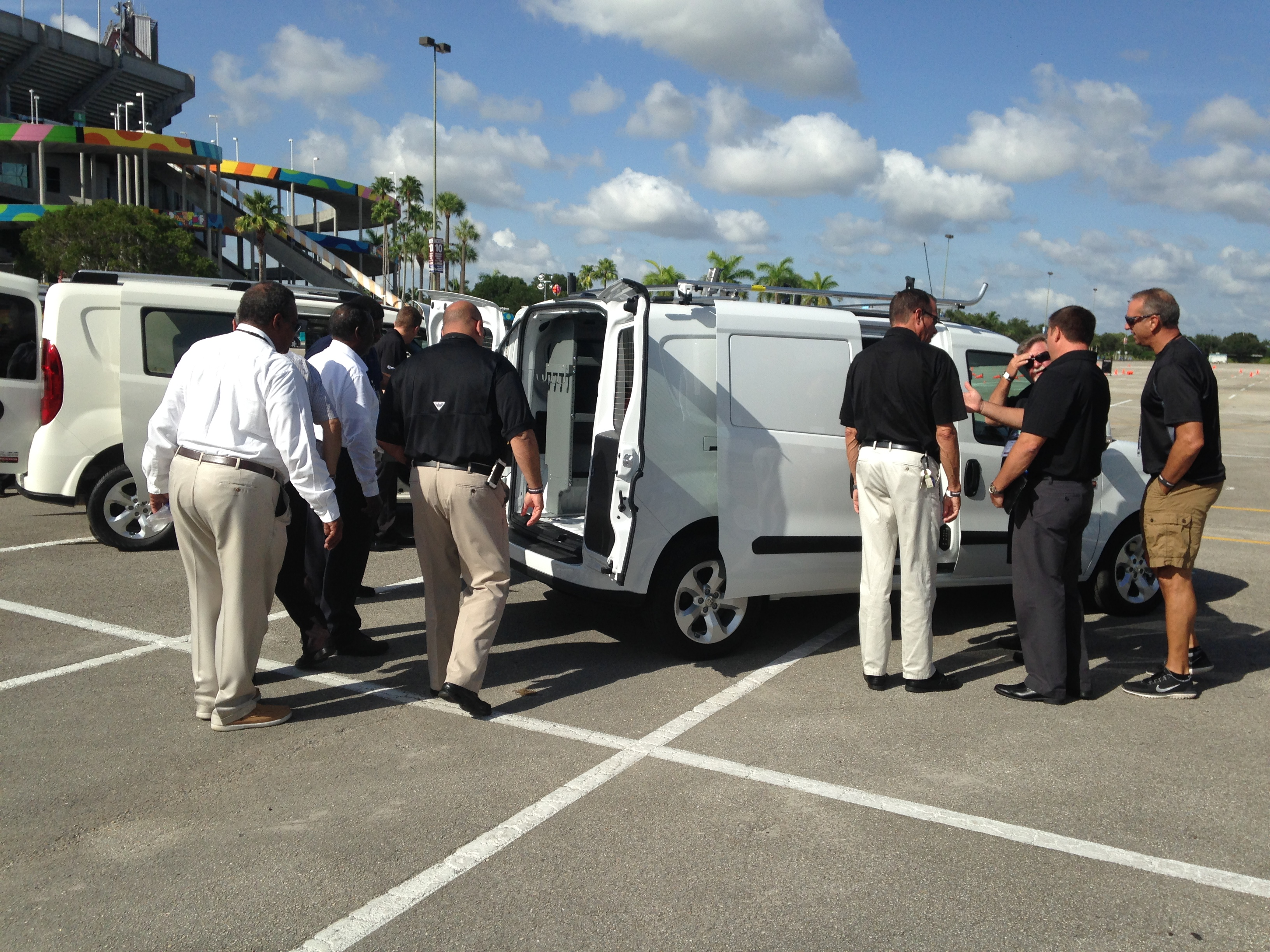 Fleet Buyers Check Out ProMaster City